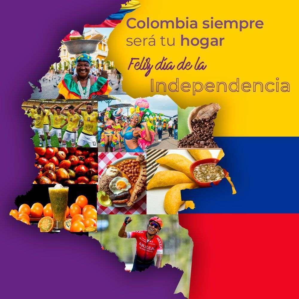 Colombia siempre será tu hogar