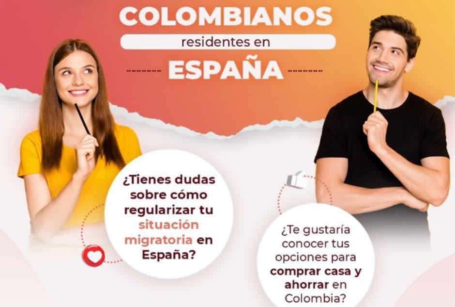 como regularizar mi situacion migratoria en España si soy colombiano dest